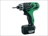Hitachi DB10DL Screwdriver 10.8 Volt 2 x 1.5Ah Li-Ion 10.8V