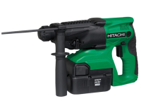 Hitachi DH24DVC SDS Plus Hammer Drill 3 Mode 24 Volt 2 x 2.0Ah NiMH 24V
