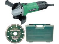 Hitachi G12SSCD 115mm Grinder with Diamond Blade & Case 240 Volt 240V