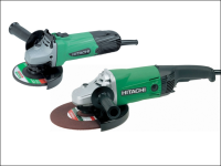 Hitachi Angle Grinder Twin Pack 115mm + 230mm 240 Volt 240V