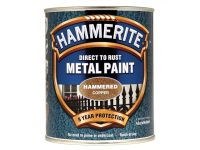 Hammerite Direct to Rust Hammered Finish Metal Paint Copper 750ml
