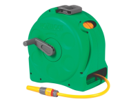 Hozelock 2414 25m Compact Hose Reel + 25 Metres of 11.5mm Hose