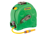 Hozelock 2415 25m 2-n-1 Compact Hose Reel & 25 Metres of 11.5mm Hose