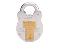 Henry Squire 440KA Old English Padlock with Steel Case 51mm Keyed