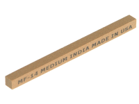 India CF34 Square File 100mm x 10mm - Coarse