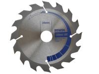 IRWIN Circular Saw Blade 125 x 16/20mm x 16T Professional Fast Rip