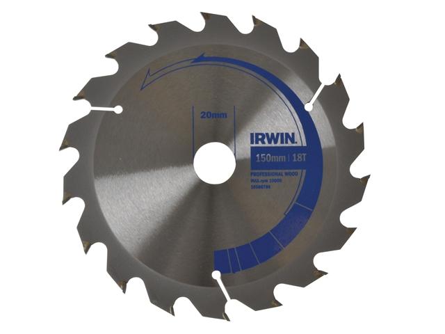 Circular Saw Blade 150 x 20mm x 18T Professional Fast Rip