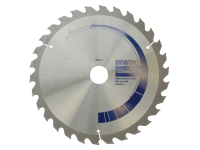 IRWIN Circular Saw Blade 235 x 30mm x 30T Professional Cross & Rip Cut