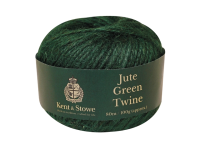 Kent & Stowe Jute Twine Green 80m 100g
