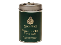 Kent & Stowe Twine In a Tin Natural & Green Twin Pack 50m (100g)