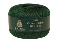 Kent & Stowe Jute Twine Bleached Green 150m (250g)