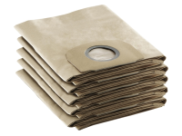 Karcher Paper Filter Bags For WD5.200 Vacuum Pack of 5