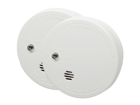 Kidde Ionisation Smoke Alarm With Test Twin Pack