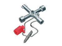 Knipex Standard Control Cabinet Key - 7 way Cabinet