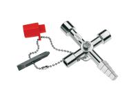 Knipex Profi-Key Professional Control Cabinet Key - 10 Way