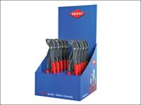 Knipex Cobra®Waterpump Pliers (Counter Display of 10 x KPX8701250)