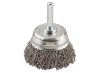 KWB HSS Crimped Cup Brush 75mm Coarse