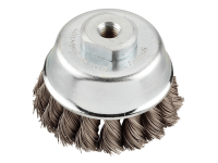 KWB Steel Twist Knot Cup Brush 66mm x M14