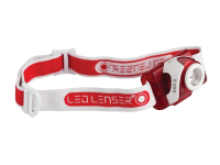 LED Lenser SEO5 Head Lamp Red Test It Pack