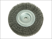 Lessmann Wheel Brush D100mm x W20-22 x 30 Bore Set 1 Steel Wire 0.30