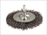 Lessmann DIY Wheel Brush 100mm x 0.35 Steel Wire