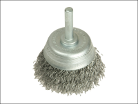 Lessmann DIY Steel Wire Cup Brush 50mm x 0.35 Wire