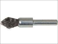 Lessmann Pointed End Brush with Shank 12/60 x 20mm 0.30 Steel Wire