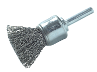 Lessmann DIY Steel Wire End Brush 25mm x 0.30