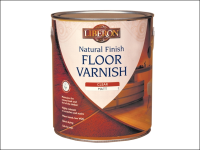 Liberon Natural Finish Floor Varnish Clear Matt 2.5 Litre