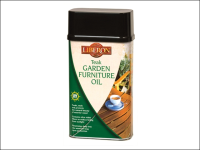 Liberon Garden Furniture Oil Teak 1 Litre
