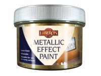 Liberon Metallic Effect Paint White Gold 250ml