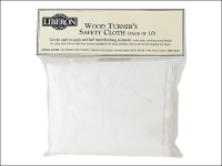 Liberon Woodturners Safety Cloth (Pack of 3)