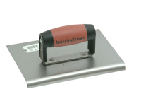 Marshalltown M120D Cement Edger Straight End Durasoft Handle 200 x 150mm (8 x 6in)