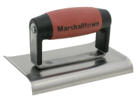 Marshalltown M136D Cement Edger Curved End Durasoft® Handle 150 x 75mm (6 x 3in)