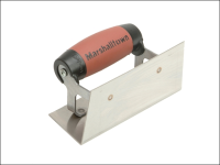 Marshalltown 65SSD Stainless Steel Internal Corner Trowel Square DuraSoft® Handle