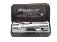 Maglite K3A102 Mini Mag AAA Solitaire Torch Boxed - Silver