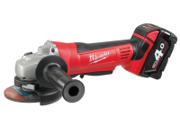 Milwaukee M18 HD18 AG-402 115mm Angle Grinder 18 Volt 2 x 4.0Ah Li-Ion 18V