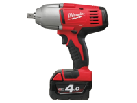 Milwaukee M18 HD18 HIW-402 Indent Pin 1/2in Impact Wrench 18 Volt 2 x 4.0Ah Li-Ion 18V