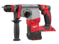 Milwaukee M18 HD18 HX-0 SDS Plus 3 Mode Rotary Hammer & Fixtec 18 Volt Bare Unit 18V