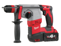 Milwaukee M18 HD18 HX-4 SDS Plus 3 Mode Rotary Hammer 18 Volt 2 x 4.0Ah Li-Ion 18V