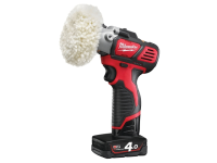 Milwaukee M12BPS-421X Cordless Polisher/Sander 12 Volt 1 x 4.0Ah Li-Ion 12V