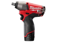 Milwaukee M12 CIW12-202C Fuel™ Compact 1/2in Impact Wrench 12 Volt 2 x 2.0Ah Li-Ion 12V