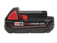 Milwaukee M18 M18B REDLITHIUM-ION™ Slide Battery Pack 18 Volt 1.5Ah Li-Ion 18V