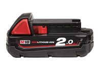 Milwaukee M18 M18B2 REDLITHIUM-ION™ Slide Battery Pack 18 Volt 2.0Ah Li-Ion 18V