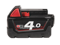 Milwaukee M18 M18B4 REDLITHIUM-ION™ Slide Battery Pack 18 Volt 4.0Ah Li-Ion 18V