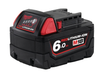 Milwaukee M18 B6 REDLITHIUM-ION™ Slide Battery Pack 18 Volt 6.0Ah Li-Ion