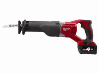 Milwaukee M18BSX-402C Reciprocating Saw 18 Volt 2 x 4.0Ah Li-Ion 18V