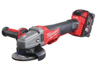 Milwaukee M18 CAG115XPDB-502X 115mm Fuel™ Brushless Angle Grinder 18 Volt 2 x 5.0Ah Li-Ion