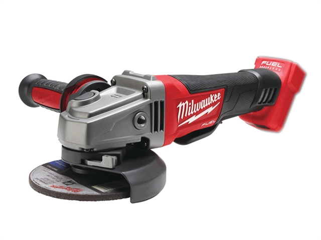 Milwaukee M18 CAG115XPD-0 Fuel™ 115mm Angle Grinder 18 Volt Bare Unit 18V