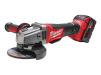 Milwaukee M18 CAG115XPD Fuel™ 115mm Angle Grinder 18 Volt 2 x 4.0Ah Li-Ion 18V